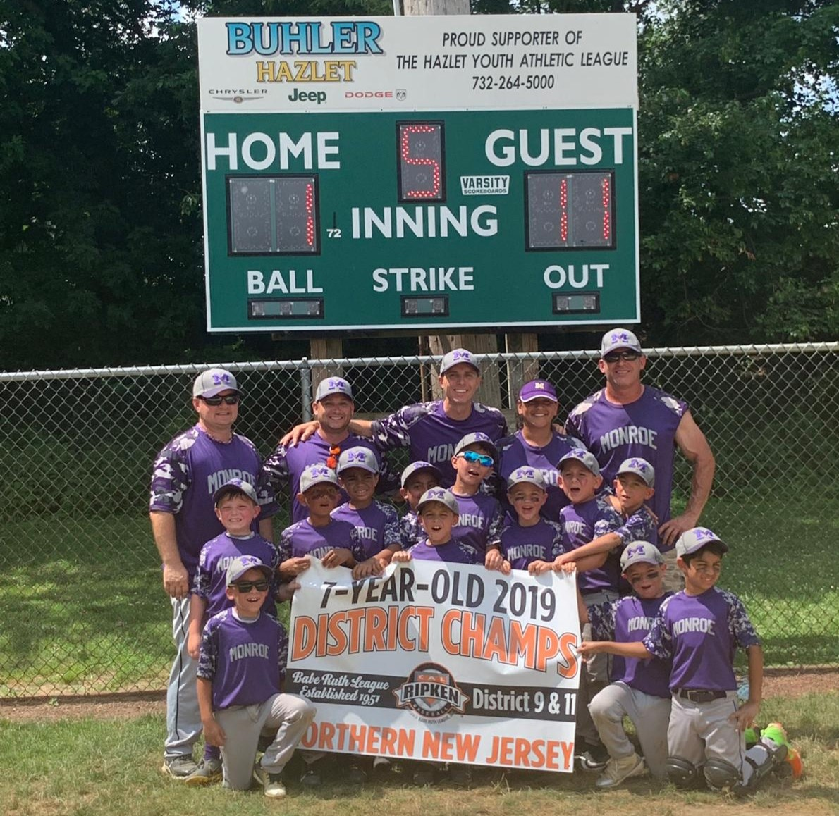 Monroe Township Baseball Association | TRAVEL BASEBALL